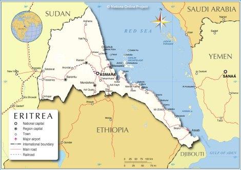 eritrea-political-map