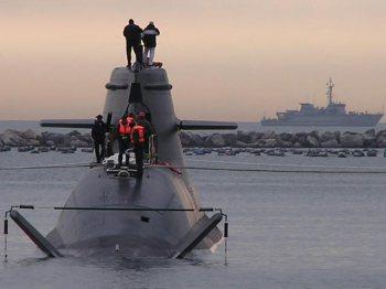 Uno dei sommergibili U-212 ordinati dalla Difesa