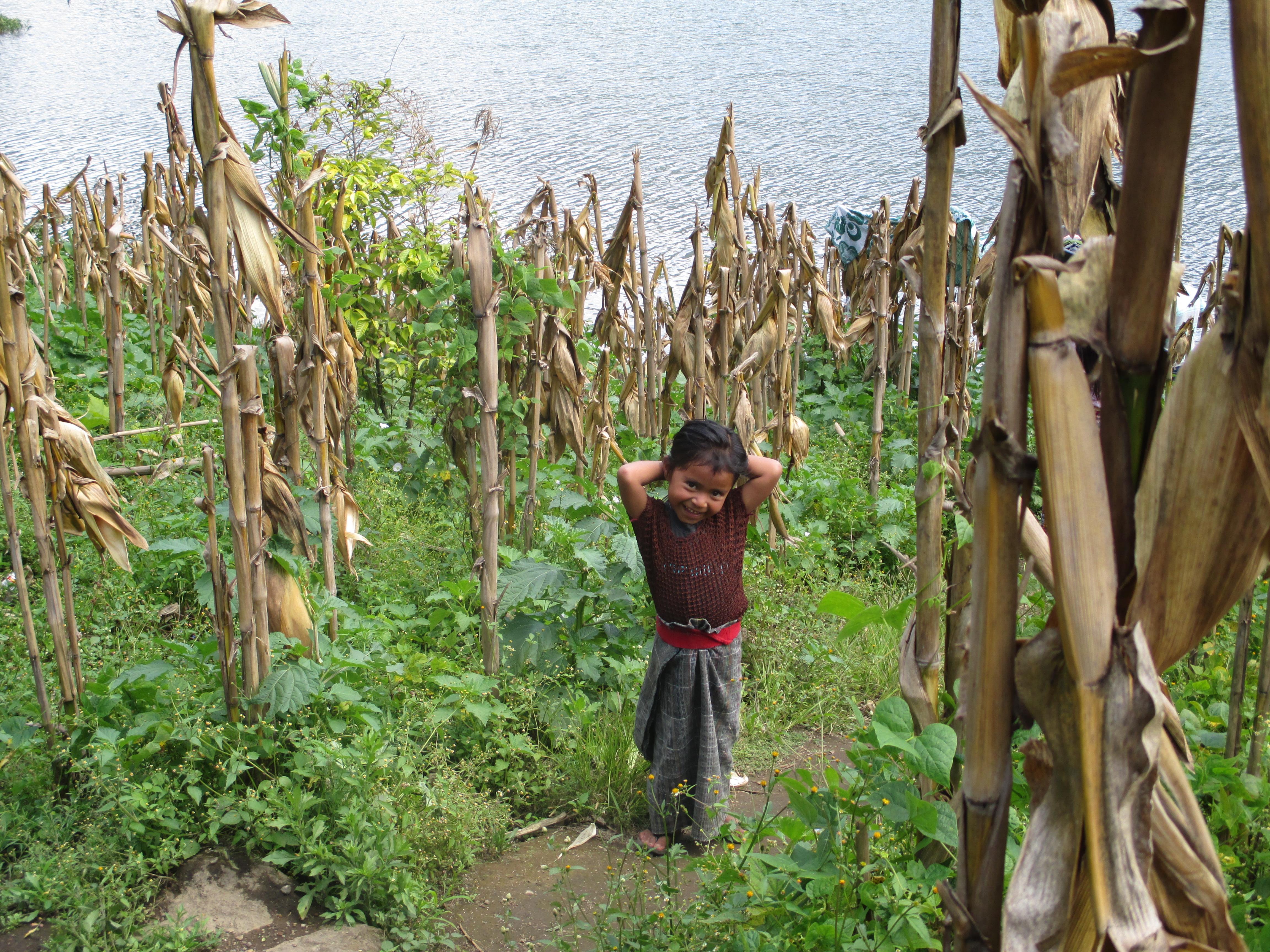 San Lucas Toliman. Lago Atitlan