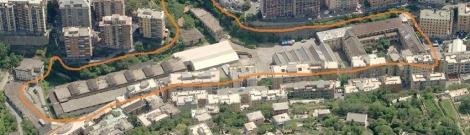 La Caserma Gavoglio nel quartiere del Lagaccio