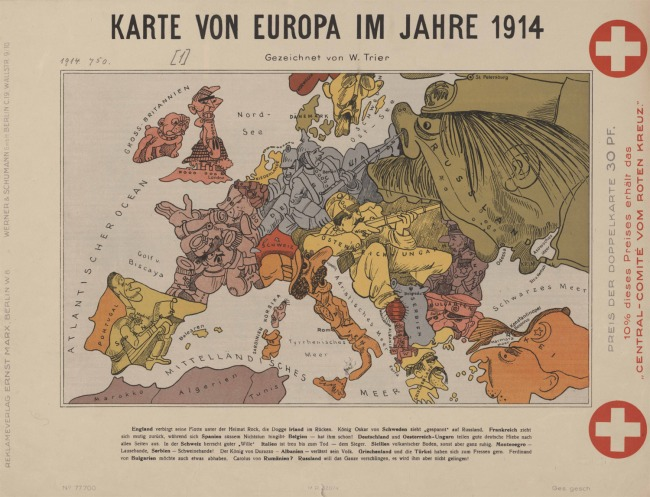 Map-of-Europe-in-1914