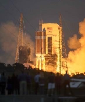 Il lancio di Orion