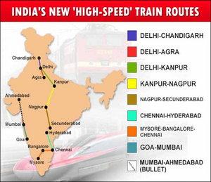 Uno dei progetti di sviluppo della rete ferroviaria